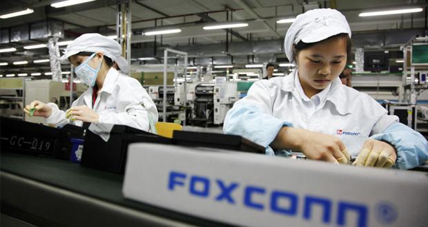 تولید آیفون های اپل در چین