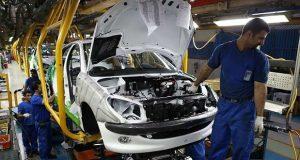تولید محصولات ایران خودرو