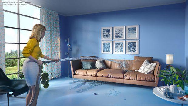 اتاق نشین زندگی در قرن 21