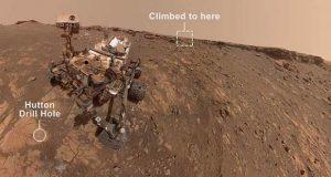 جدیدترین سلفی کاوشگر کنجکاوی و ثبت رکوردی جدید در مریخ!