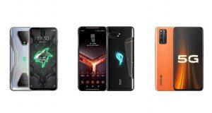 مقایسه گوشی های گیمینگ بلک شارک 3 با ایسوس راگ فون 2 و ویوو iQOO 3 5G