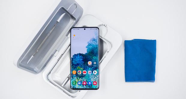 ضد عفونی کردن گوشی های هوشمند