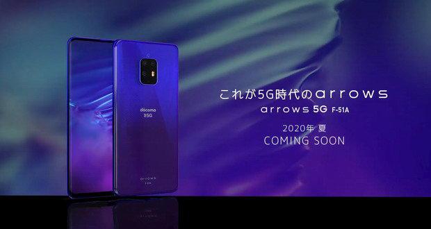 مشخصات و تصاویر گوشی فوجیتسو Arrows 5G پیش از رونمایی فاش شد
