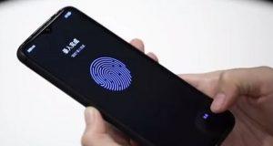اسکنر اثر انگشت زیر نمایشگر LCD ردمی