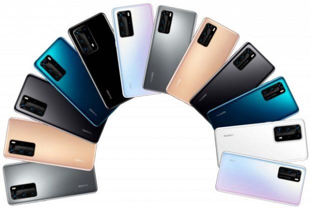 گوشی های سری هواوی پی 40
