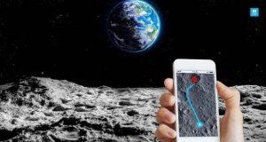 جی پی اس در ماه
