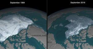 یخ های قطب شمال تا سال 2050 کاملا از بین میروند
