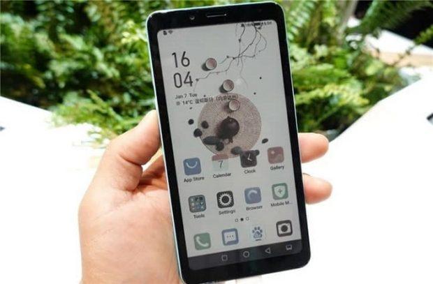 گوشی هوشمند هایسنس با صفحه نمایش جوهر رنگی