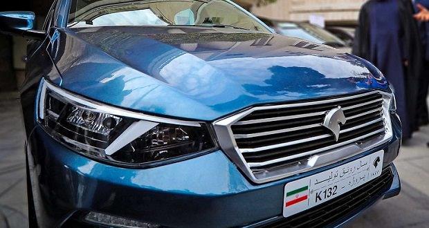 محصول جدید ایران خودرو