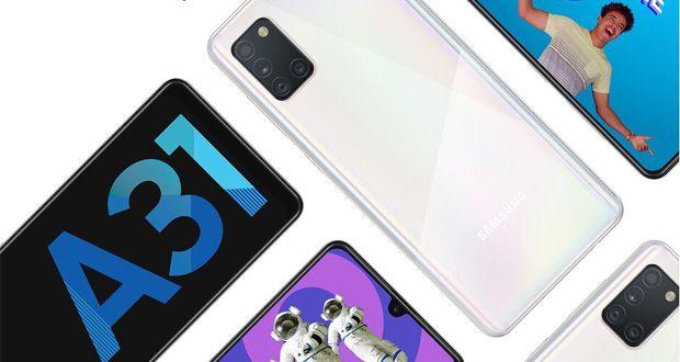 قیمت سامسونگ گلکسی ای 31 - Samsung Galaxy A31