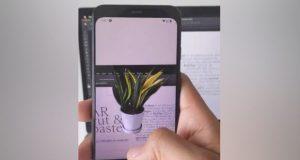 کپی پیست اشیا واقعی در فتوشاپ با اپلیکیشن AR Cut & Paste