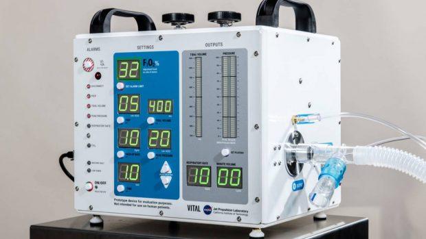 دستگاه تنفس مصنوعی ناسا بیماران کرونا را نجات خواهد داد!