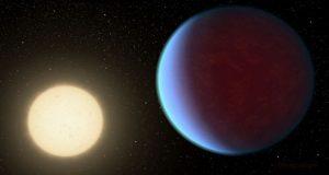 این تصویر هنری ناسا وضعیت یک سیاره شبیه زمین را نشان میدهد