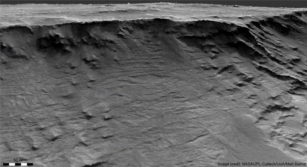 کشف شواهدی مهم از رودخانه های مریخی برای اولین بار