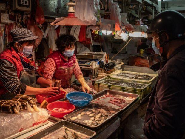 منشا شیوع بیماری کرونا بازار حیوانات زنده ووهان نبوده است!