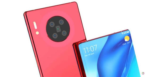 طرح مفهومی هواوی میت 40 - Huawei Mate 40