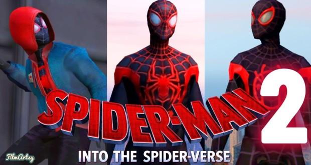 انیمیشن مرد عنکبوتی: به درون دنیای عنکبوتی 2
