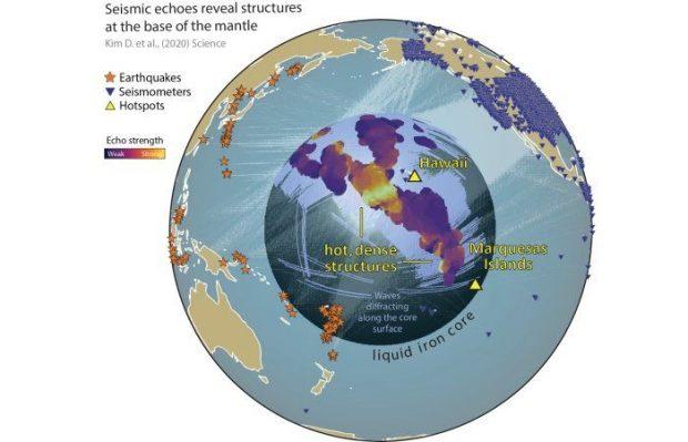 کشف ساختارهای عجیب و عظیم در اطراف هسته زمین
