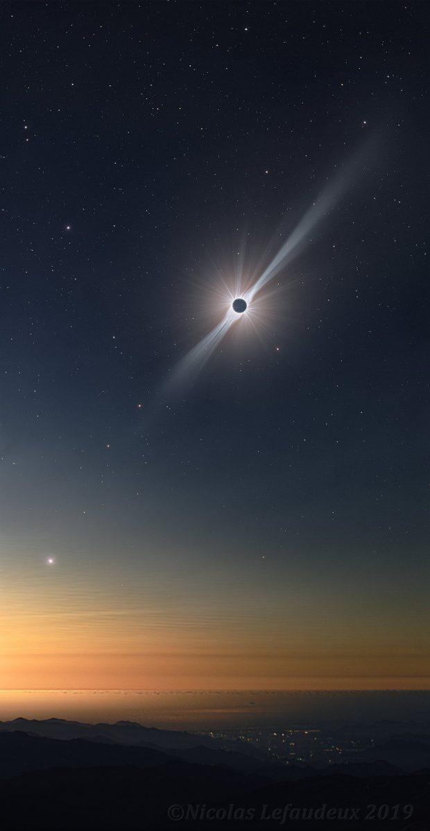 حلقه آتش یکشنبه آینده آسمان سیاره را نورانی خواهد کرد