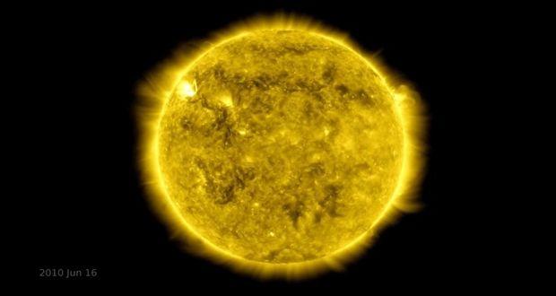 انتشار ویدیو تایم لپس ناسا به مناسبت ده سالگی رصدخانه دینامیکی خورشید