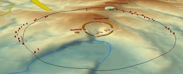 کشف چاله های مخفی و مرموز در نزدیکی آثار باستانی استون هنج