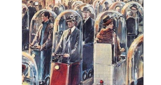 تصاویری دیدنی مربوط به تصور گذشتگان از پیشرفت های تکنولوژی آینده