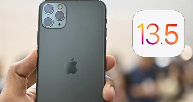 آپدیت آی او اس 13.5 - iOS 13.5