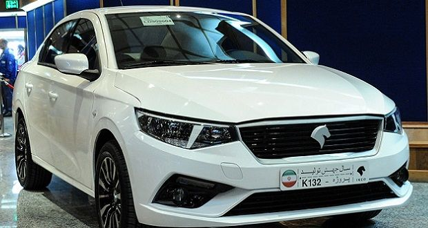 مشخصات ایران خودرو K132