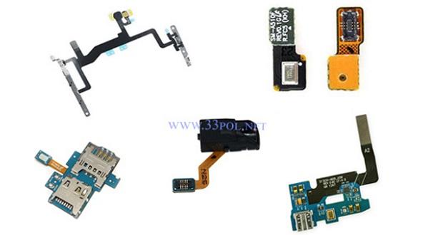 کالبد شکافیتلفن همراه؛ مجموعه فلت های موجود در گوشی ها