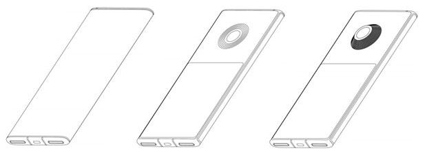 پتنت گوشی هوشمند دارای دو نمایشگر