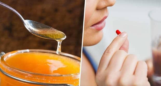 مصرف عسل از داروهای ضد سرماخوردگی و آنتیبیوتیک بهتر است