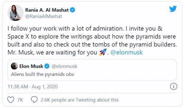 ایلان ماسک: اهرام مصر توسط فرازمینیها ساخته شدهاند