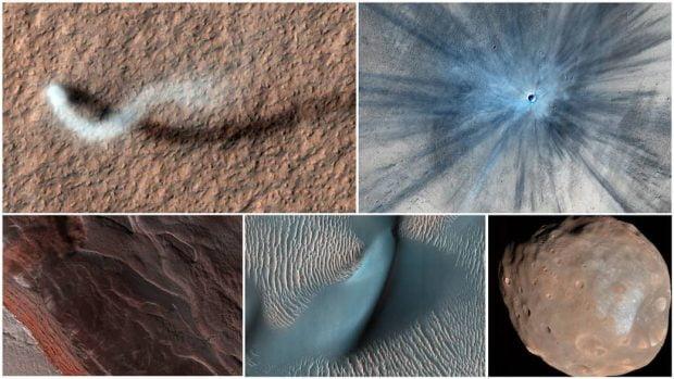 ناسا بهترین تصاویر مریخی خود را در اختیار عموم قرار داد
