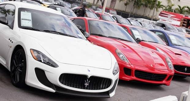 قیمت خودرو در امارات