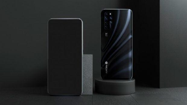 طراحی گوشی ZTE Axon 20 5G
