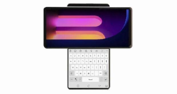 گوشی دو نمایشگره ال جی Wing 5G