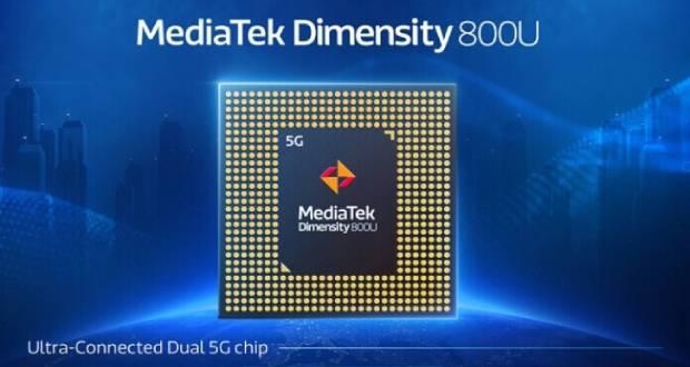 چیپست Dimensity 800U مدیاتک