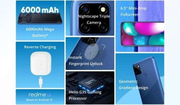 گوشی ریلمی سی 12 - Realme C12