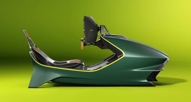 شبیه ساز مسابقه AMR-C01 خودروسازی استون مارتین معرفی شد