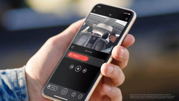 دوربین های امنیتی خودرو Ring