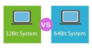 تفاوت ویندوز 32 بیت و 64 بیت