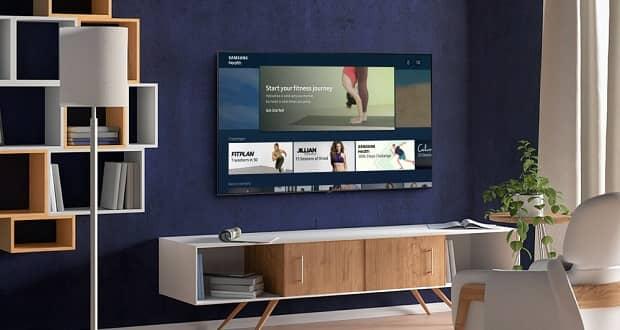 برنامه Samsung Health