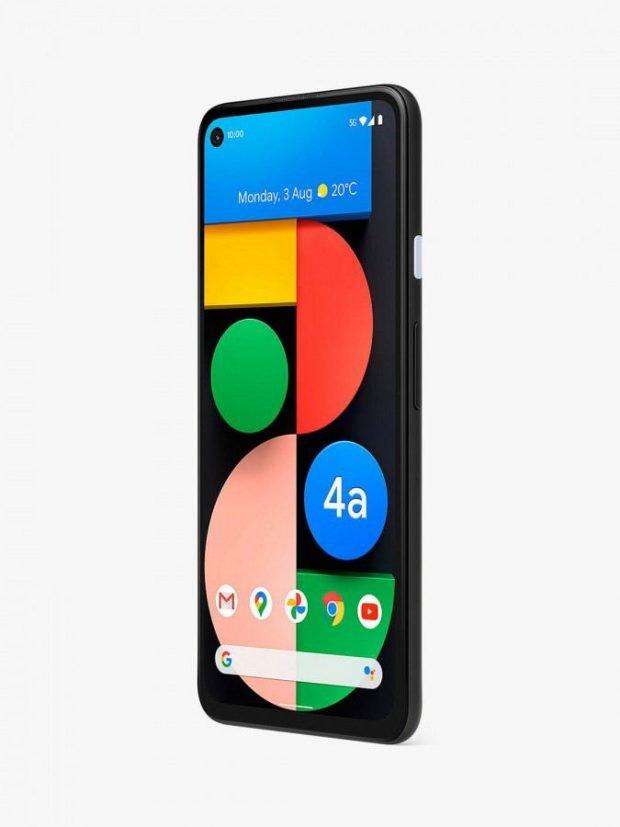 رندر گوگل Pixel 4a 5G