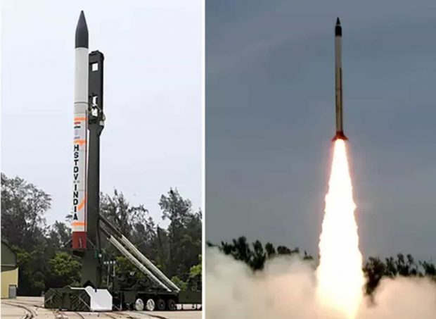 موشک هایپرسونیک هند