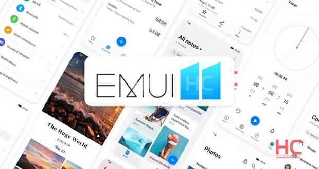 عکس تبلیغاتی رابط کاربری EMUI 11