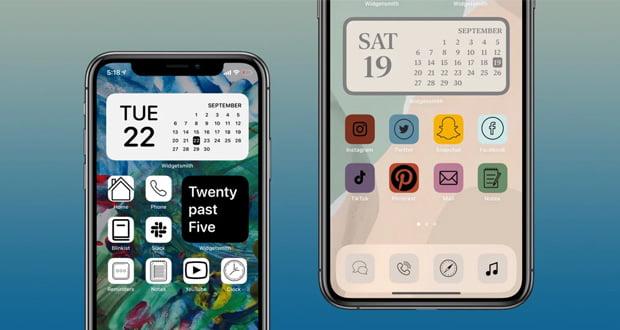 تغییر آیکون اپلیکیشن های آیفون در iOS 14