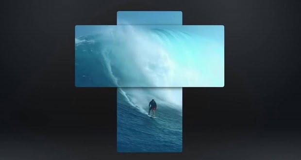 ویدیوی جدید گوشی ال جی وینگ