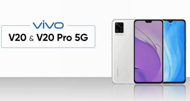 دو گوشی سری vivo V20