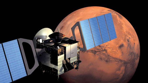کشف شبکهای مخفی از دریاچه های مریخی دانشمندان را شگفتزده کرد
