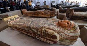 کشف 59 تابوت و مومیایی مصری جدید در جنوب قاهره